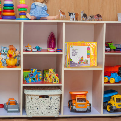 Store your foam building blocks for kids neatly in their package.