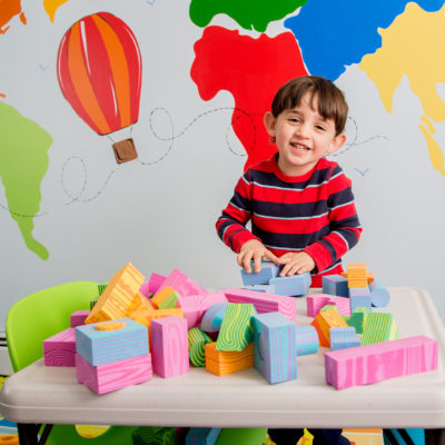 Morvat's foam unit blocks are made to provide tactile and engaging playtime for any aged child.