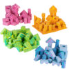 Morvat's foam building blocks for kids come in different bright colors.