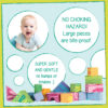 Morvat's foam unit blocks are soft & gentle to touch.