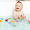 Foam building blocks for babies are floatable and fun for bath time & pools.