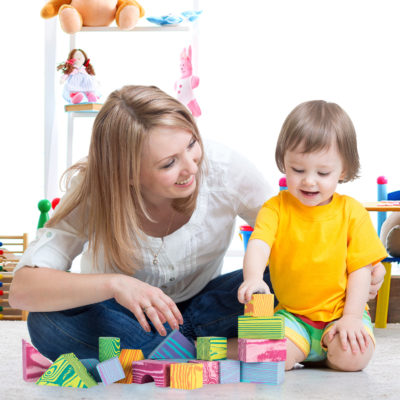 These foam building block toys will keep your child entertained for hours.