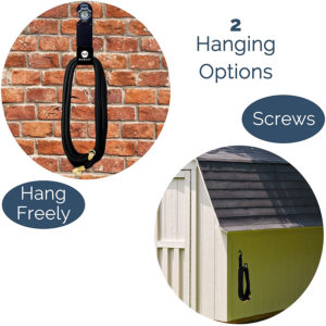 Garden Hose Hanger Hook – Heavy-Duty Metal Holds Up to 150 FT Hose