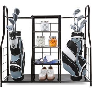 Golf bag organizer for golf gadgets, bag & golf accessories