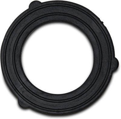 The water hose splitter comes with rubber washers to ensure a tight fit to your spigot.