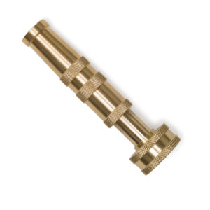 Heavy Duty Brass Hose Nozzle for Garden and Outdoor Use