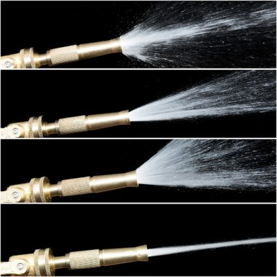 There are many spray settings so that you can accomplish any job.