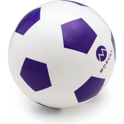 2 Mini soccer balls are included with the toddler soccer net by Morvat.