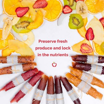 Use this food dehydrator machine to make delicious and nutrient packed snacks.