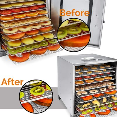This is the best food dehydrator to make any dried fruit, vegetable, or meat.