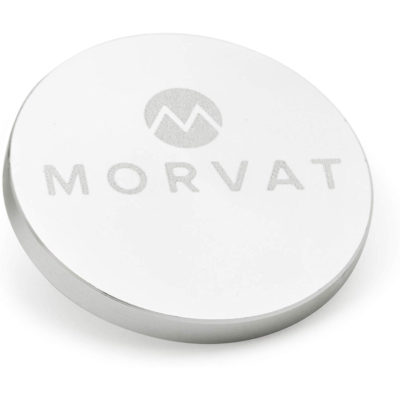 Each Morvat keychain for the golf club groove cleaning tool is sleek and compact.