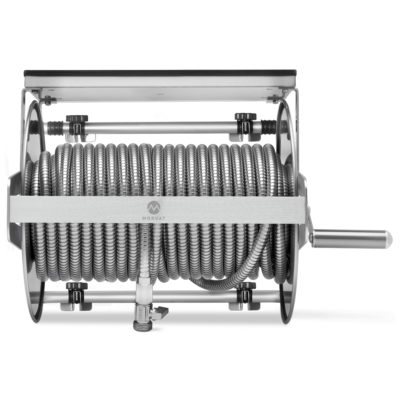 Made from the highest quality stainless steel, Morvat's hose reel is created to last.